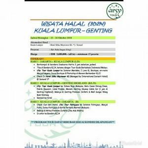 paket wisata ke genting malaysia
