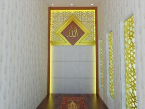 dekorasi masjid lampung