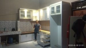harga kitchen set per meter bandar lampung