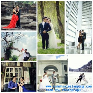 Jasa Photo Pra wedding dan wedding Terbaik di Bandar Lampung