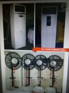 kipas angin air dan ac