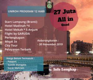 Travel Umroh Bandar Lampung