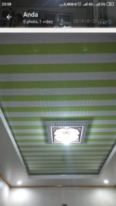 jasa pasang plafon pvc di lampung