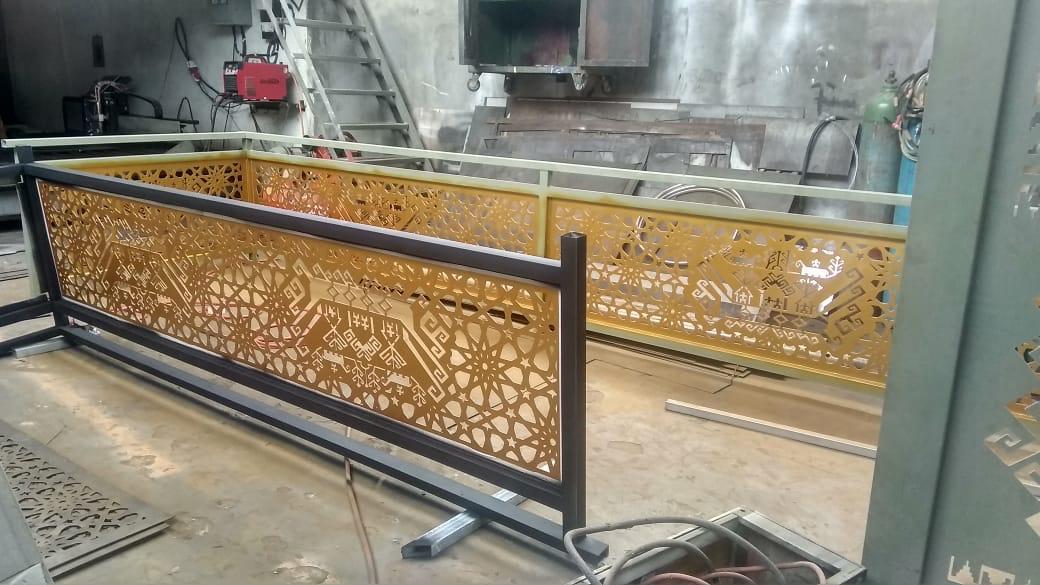jasa pembuatan pagar cutting plat besi di bandar lampung